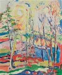 vibrant landscape by judyta sobel