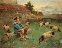 le gardien de cochon by noel saunier