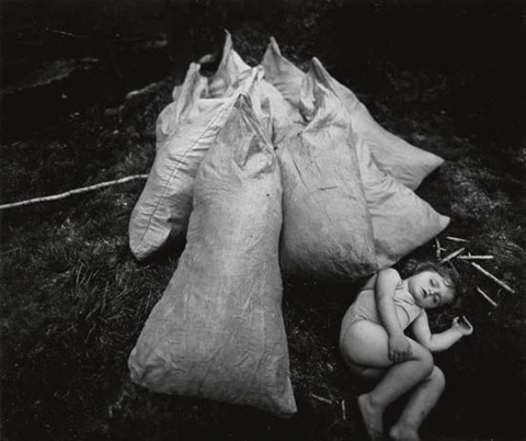 virginia asleep by sally mann