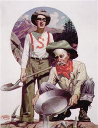 prospector with stanford assistant by hubert rogers