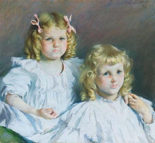 sisters by lydia field emmet