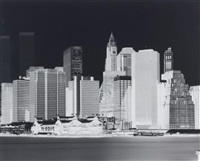 untitled (manhattan skyline) by vera lutter
