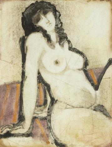 female nude by douglas portway