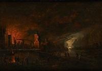 l'incendie de la ville by flemish school (19)