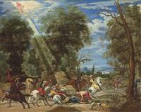 the conversion of saint paul by david teniers the elder