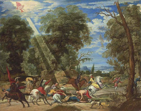 the conversion of saint paul by david teniers the elder