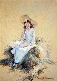 cynthia sherwood, the artist's daughter by rosina emmet sherwood