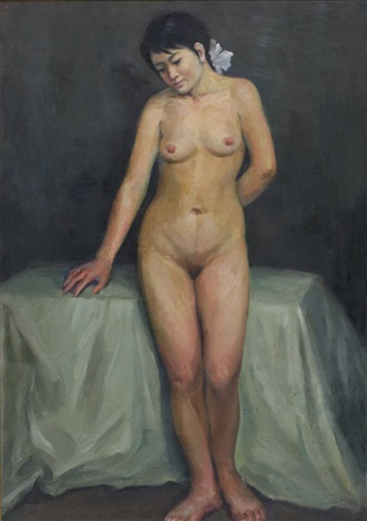 naked lady by liu guoshu
