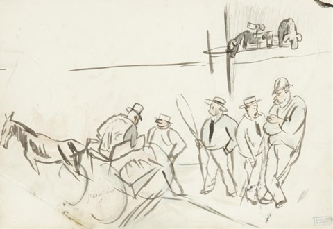 les cavaliers by jules pascin
