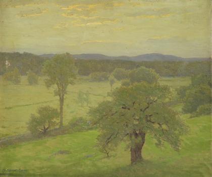 verdant landscape by charles warren eaton