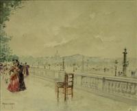 promenade aux tuileries by francis garat