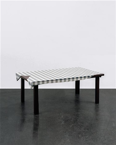 untitled table by urs fischer