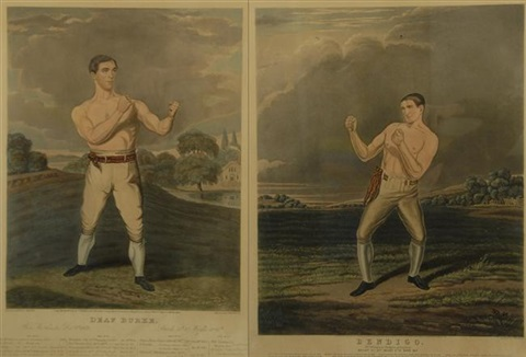 bendigo deaf burke pair by charles hunt