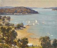 middle harbour, sydney by james ranalph jackson