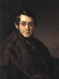 portrait of a gentleman by vasili andreevich tropinin