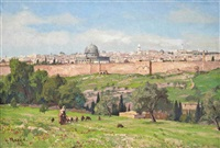 jerusalem by georg macco