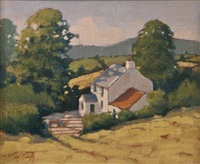 the hayfield as high as the house by norman smyth