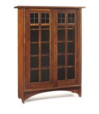double-door bookcase by harvey ellis