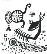 strange creatures by alan davie