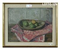 piatto di frutti autunnali by luigi arrigoni