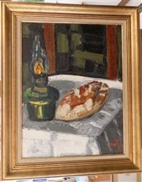 composition à la lampe à huile by jean couty