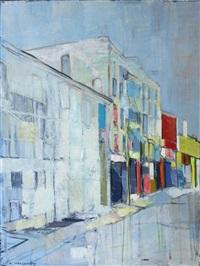 metropolitan avenue, brooklyn, ny by alexey krasnovsky