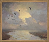 ducks in flight by harold matthews brett