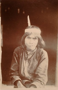 pérou, jeune indien by pedro emilio garreaud