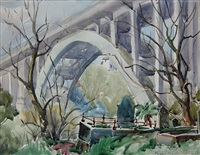 grafton bridge by peggy spicer