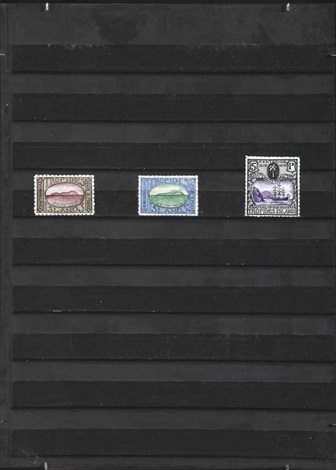 tropides islands a series of three stamps by donald evans
