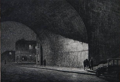 arch midnight by martin lewis
