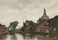 a view of hoorn by floris arntzenius