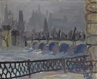 charles bridge by vladislav vaculka