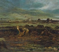 the peat cutters by george w. aikman