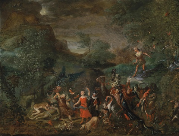 die versuchung des heiligen antonius by flemish school 16