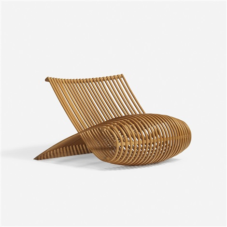 Wooden chair by marc newson on artnet for Marc newson wooden chair
