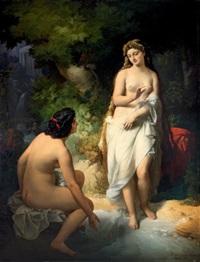 vénus au bain by nandor (krebs) rakosi