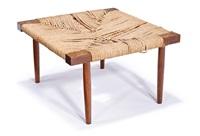 grass seat fitch stool by george nakashima