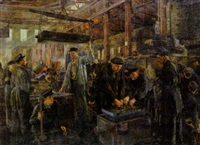 the steel factory by genrikh frantsevich brzhozovsky