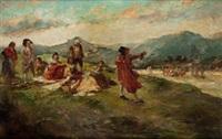 merienda campestre by emilio alvarez díaz