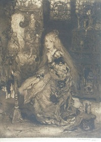 the lady of shalot by matthijs maris