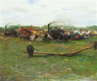 steam threshing moynalty by paul kelly