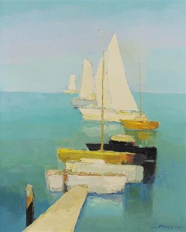 le voilier jaune by joseph muslin