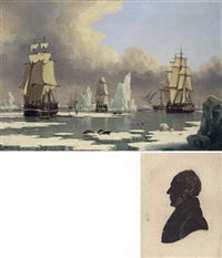 "the northern whale fishery (+ the ""swan"" and ""isabella""; 2 works) by john ward of hull"