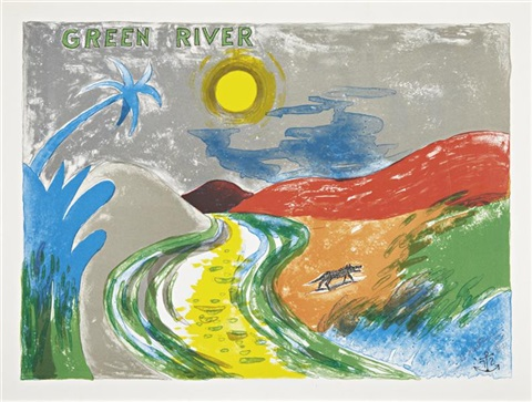 green river by horace clifford westermann