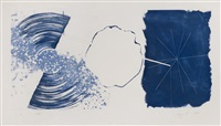 astronomical blackboard (2nd state) by james rosenquist