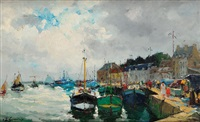 le port by louis edouard garrido
