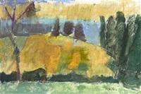 landscape, borders by earl haig