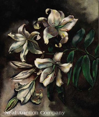lilies by george biddle