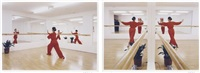 el ballet studio (+ another; 2 works) by leandro erlich